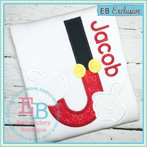 Magical Hands Applique Alphabet, Applique Alphabet