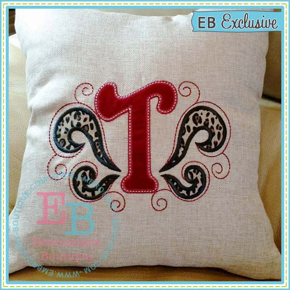 Flourish Applique Alphabet