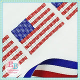Flag Cross Stitch Design, Embroidery