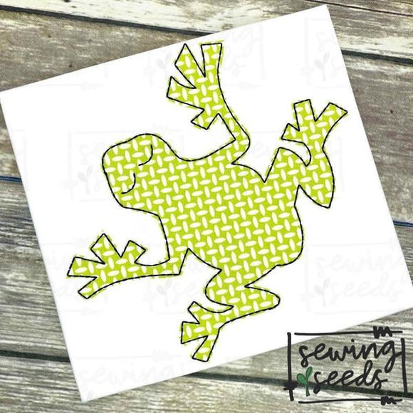 Frog Applique SS, Applique