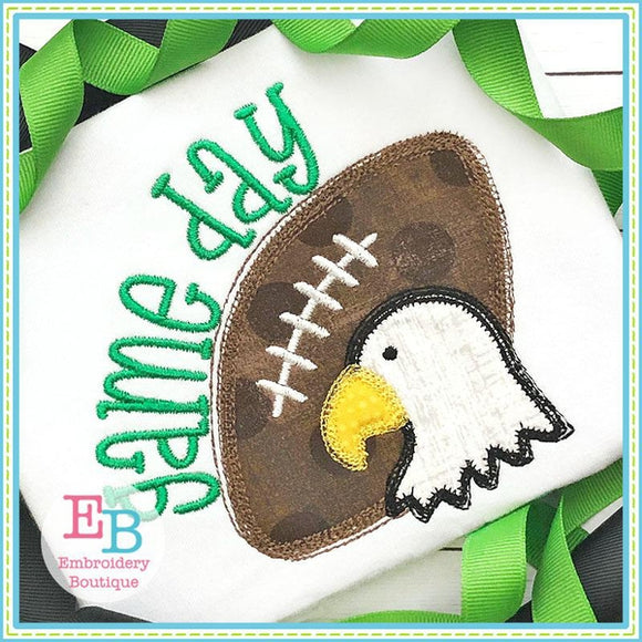 Game Day Eagle Applique