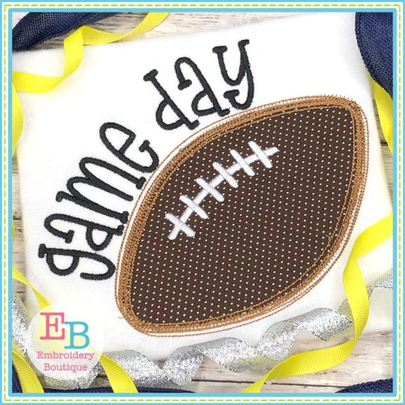 Game Day Applique