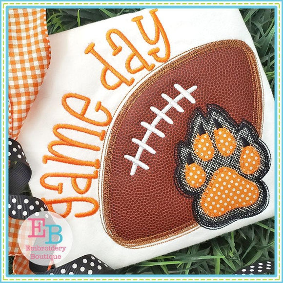 Game Day Claw Applique