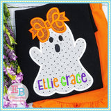 Ghost with Arms Applique, Applique