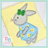 Bunny Girl 2 Applique, Applique