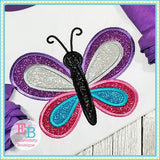 Butterfly 2 Applique, Applique