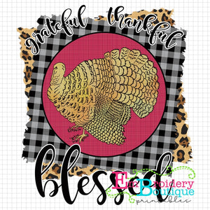 Grateful Printable Design PNG, Printable
