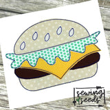 Cheese Burger Applique SS
