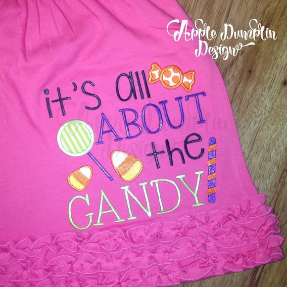 It's all about the Candy Applique Design - embroidery-boutique