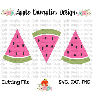 Watermelon Trio SVG, SVG