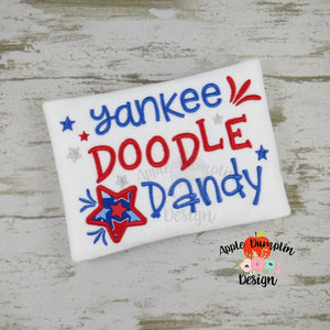 Yankee Doodle Dandy Applique Design - embroidery-boutique