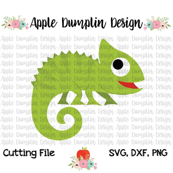 Chameleon SVG - embroidery-boutique
