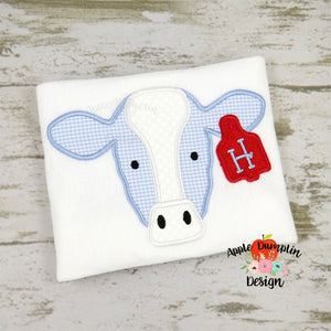 Cow Applique Design, applique