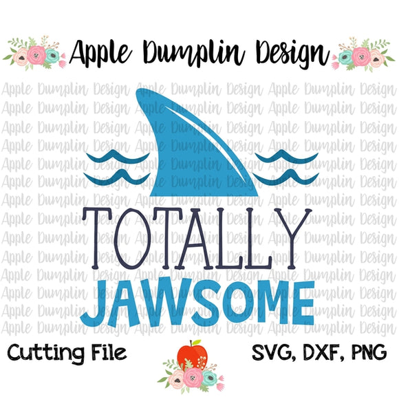 Totally Jawsome SVG