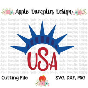 Liberty Crown SVG - embroidery-boutique