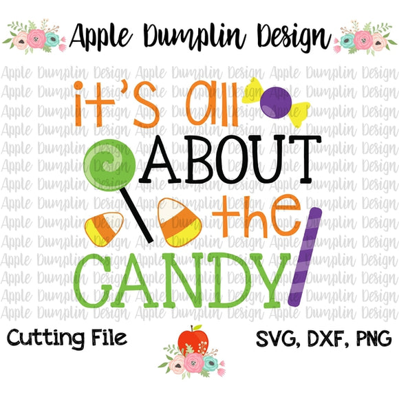 It's All About The Candy SVG - embroidery-boutique