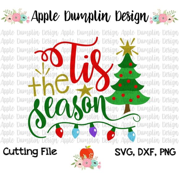 Tis the Season SVG - embroidery-boutique