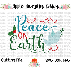 Peace on Earth SVG
