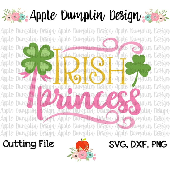 Irish Princess SVG - embroidery-boutique