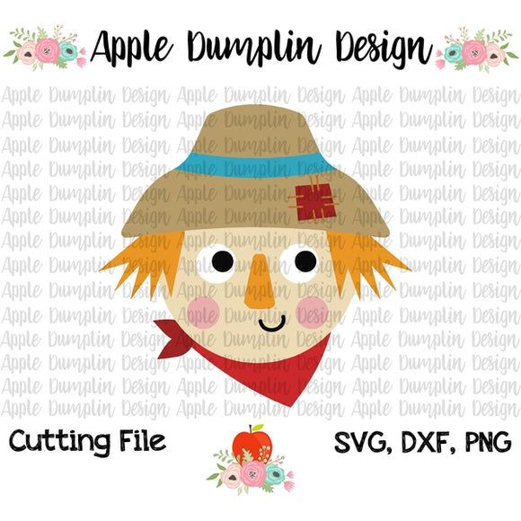 Scarecrow SVG - embroidery-boutique