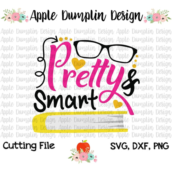 Pretty and Smart SVG - embroidery-boutique