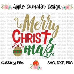 Merry Christmas SVG - embroidery-boutique