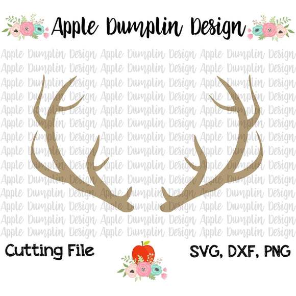Deer Antlers SVG - embroidery-boutique