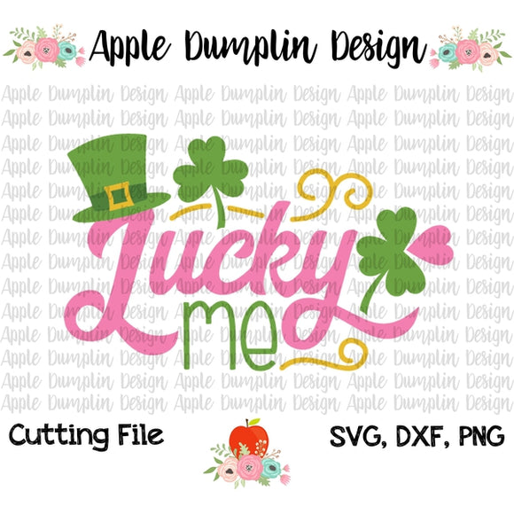 Lucky Me SVG - embroidery-boutique