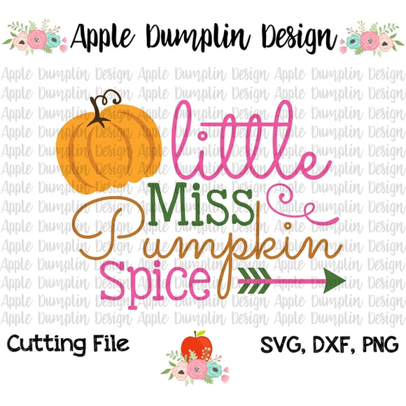 Little Miss Pumpkin Spice SVG