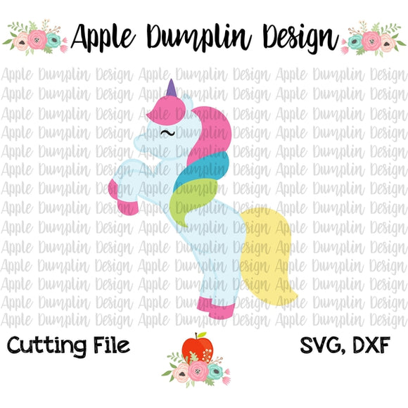 Unicorn SVG - embroidery-boutique
