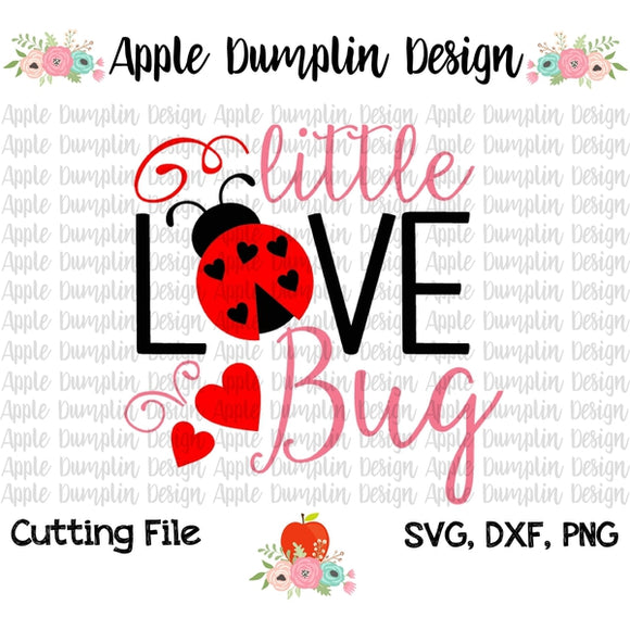 Little Love Bug SVG - embroidery-boutique