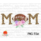 Football MOM Printable Design PNG 2 - Embroidery Boutique