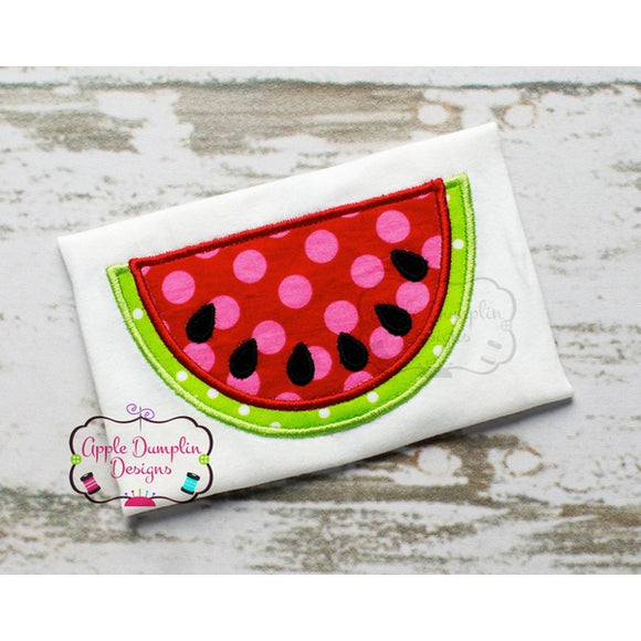 Watermelon Applique Design - embroidery-boutique