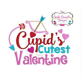 Cupid's Cutest Valentine Embroidery Design