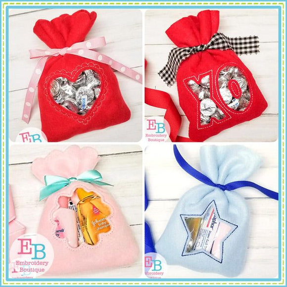 In the Hoop Treat Bag Bundle 2