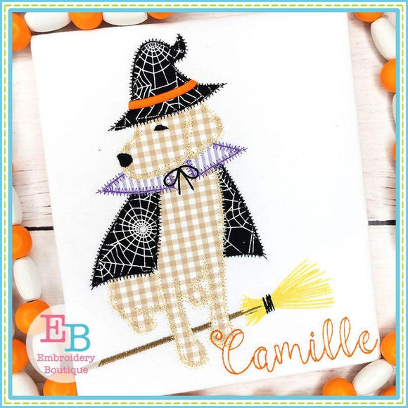 Lab Witch Applique
