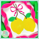Lemon Bunch Satin Applique