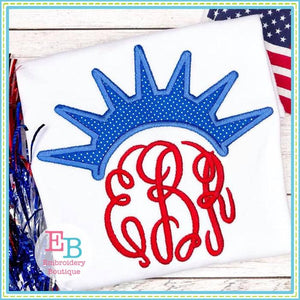 Liberty Topper Applique - embroidery-boutique