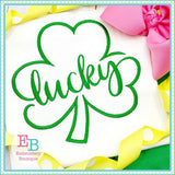 Lucky Shamrock Design, Embroidery