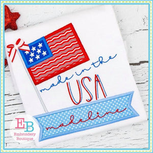 Made In USA Applique, Applique