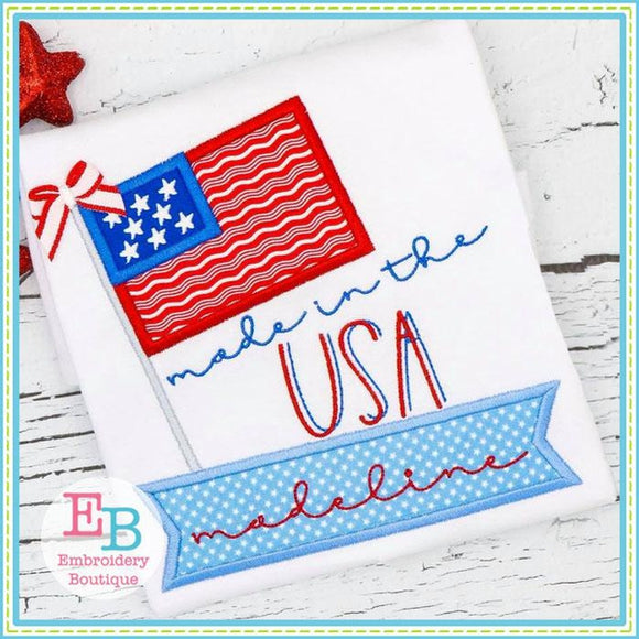 Made In USA Applique