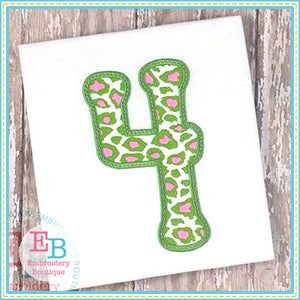 Melonheadz Applique Number Set, Applique Number Set