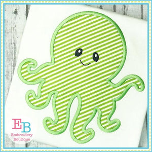 Octopus 2 Applique - embroidery-boutique