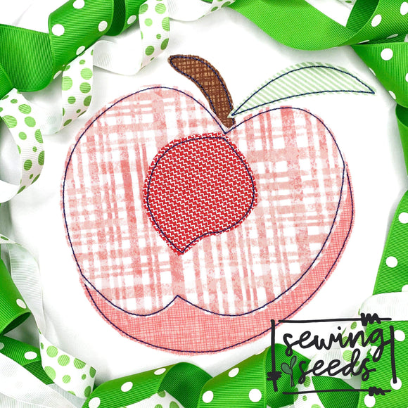 Peach Inside Applique SS - Sewing Seeds