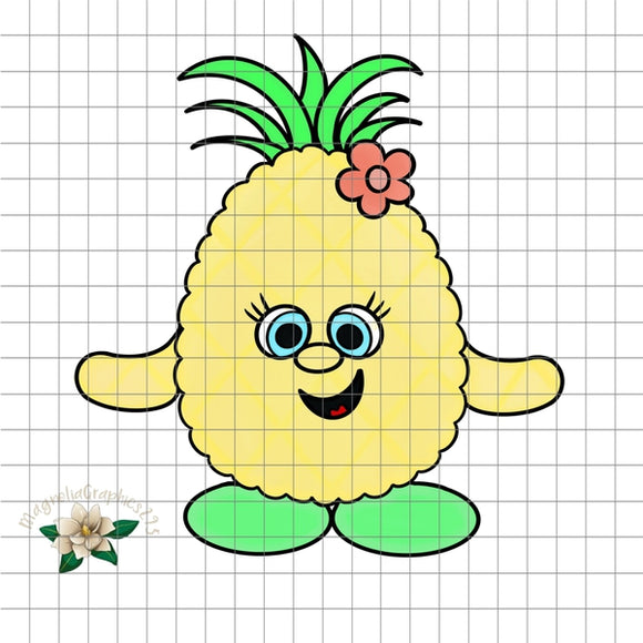 Pineapple PNG Printable Design