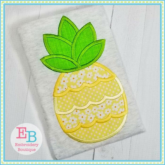 Pineapple 3 Applique, Applique