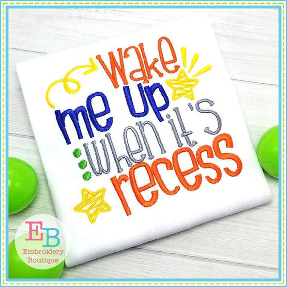 Recess Embroidery Design, Embroidery