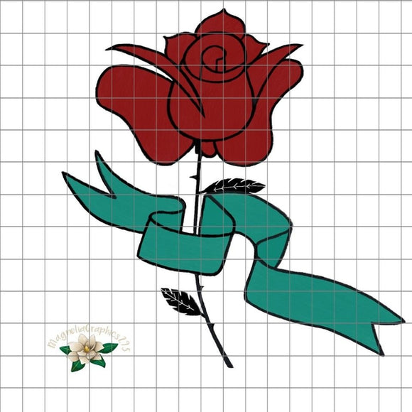 Rose PNG Printable Design