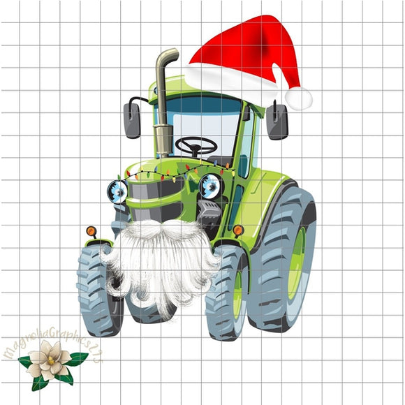 Christmas Tractor PNG