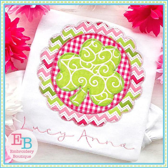 Shamrock Scallop Applique